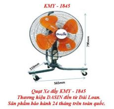 Quạt Xe Đẩy KMY-1845 - WHEEL MOVING FAN KMY-1845