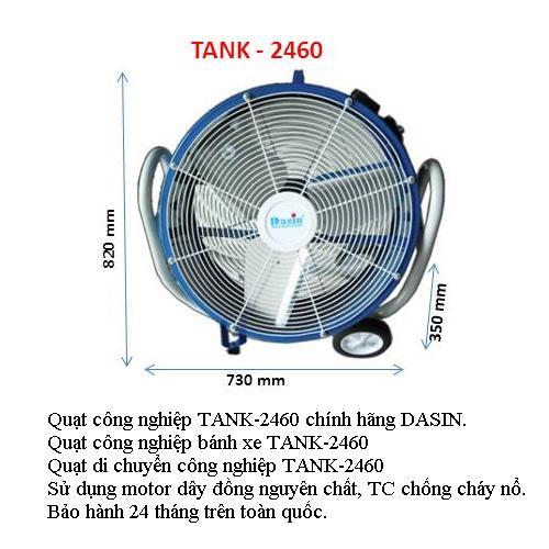 Quạt Công nghiệp Bánh Xe TANK-2460