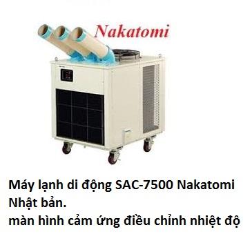 máy Lạnh di động SAC-7500 Nhật bản.