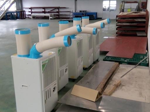 máy lạnh di động SAC 407 ND, SAC 4500, SAC 6500 tại Bình Dương, Đồng Nai...